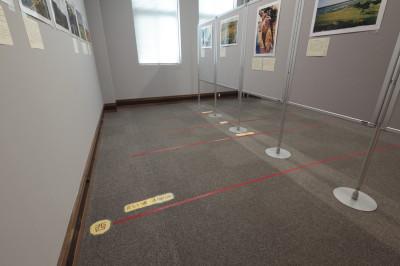 床に描かれたドリーミング